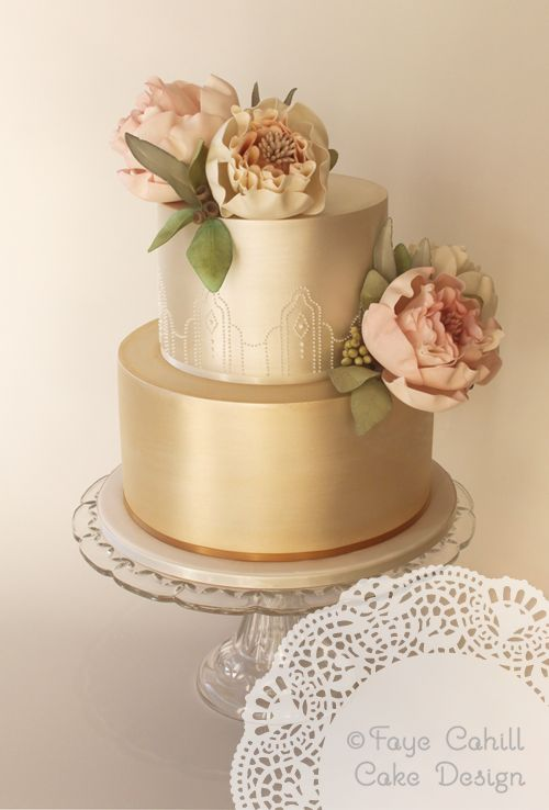 Prettiness from These Exquisite Wedding Cakes