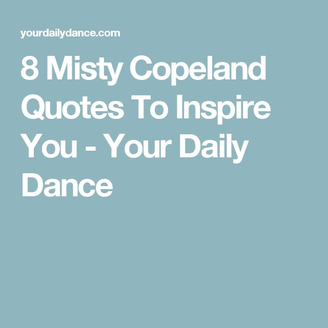 Audacity Of Hope Quotes: 78 Best Ideas About Misty Copeland On Pinterest