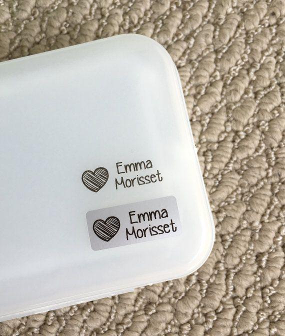 Waterproof name labels Waterproof name stickers School labels