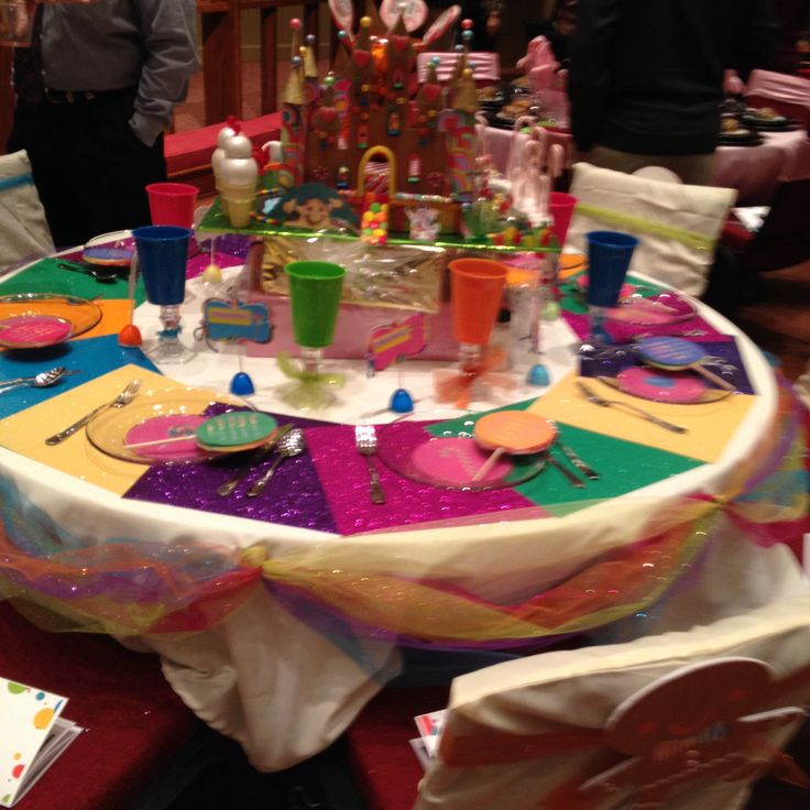 Festival Of Tables Candy Land Tablescapes Pinterest