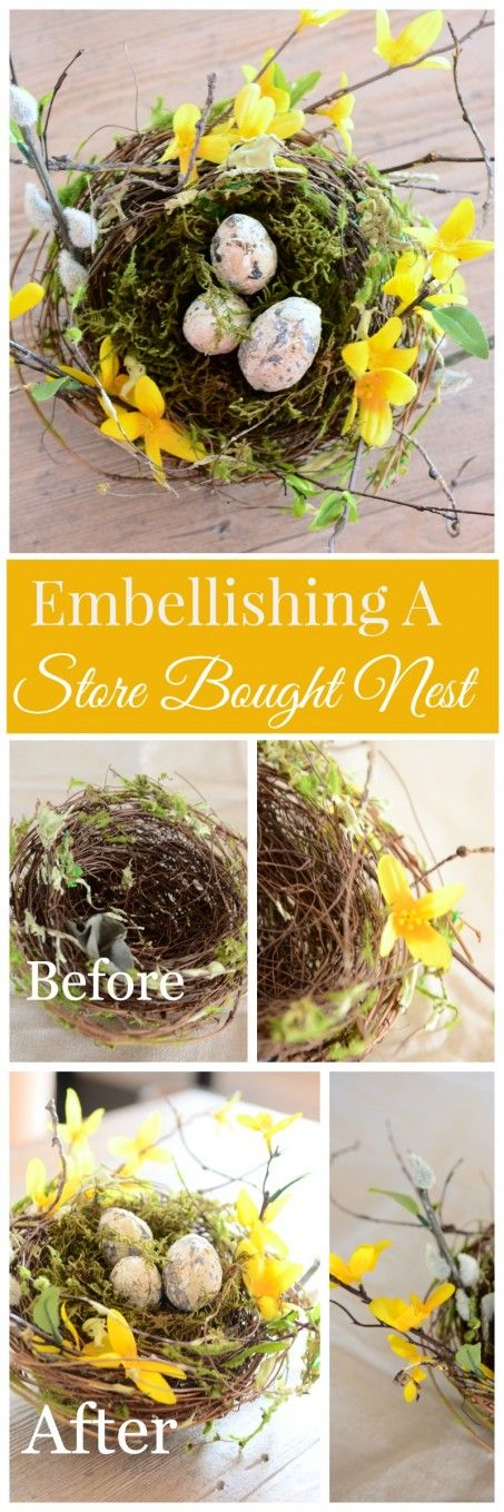 HOW TO EMBELLISH A STORE BOUGHT WREATH  an easy diy