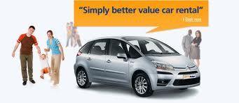 Simply Better Value Budget Car Rental Canada Car Rental Coupon September 2013