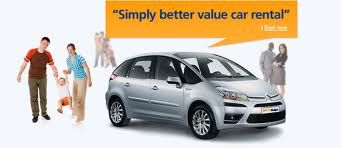 Simply Better Value Budget Car Rental Canada Car Rental Coupon September 2013