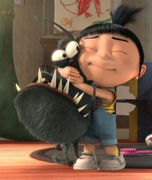 "Despicable Me | ""It's so fluffy, I'm gonna die!"""