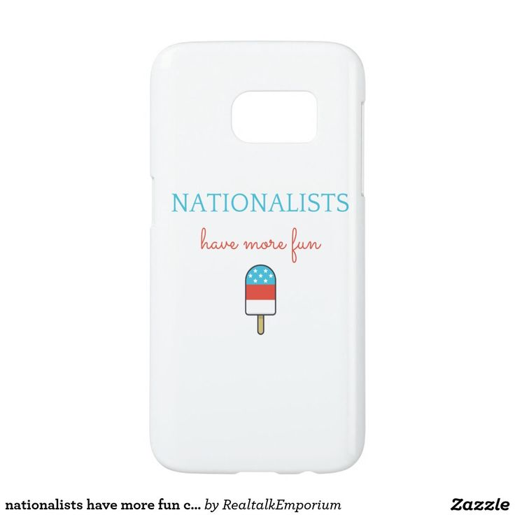 nationalists have more fun case - popsicle