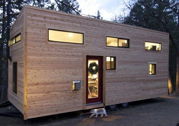 Самые маленькие дома мира.Деревянный дом-фургон площадью 22,5 кв.м., Мексика, Баха.