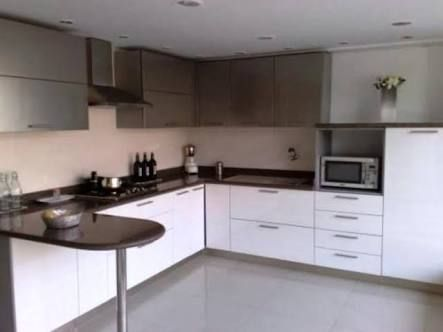 Image result for l+shaped+modular+kitchen+designs+catalogue | Small apartment kitchen, L shaped ...
