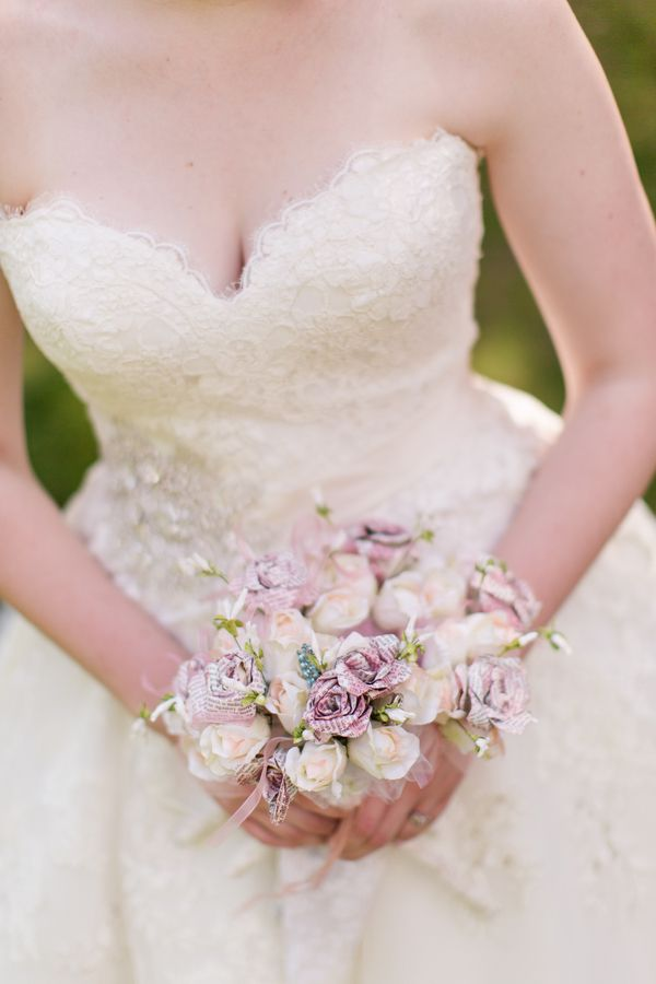 Lovely Diy Paper Flower Bouquet View The Full Wedding