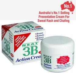3B Action Anti-Chafing And Anti-Sweat Rash Cream 100g 3B Action Anti-Chafing And Anti-Sweat Rash Cream 100g Price £10.95