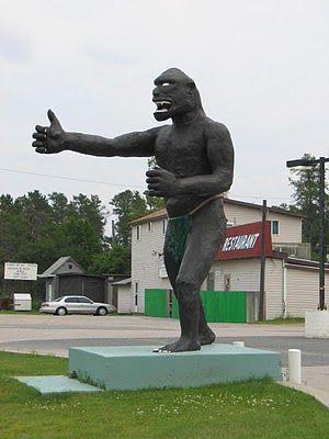 """""""Bigfoot"""" -- Vermillion Bay, Ontario"""