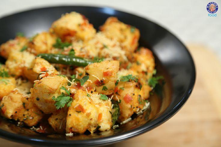 Bread Upma - Easy To Make Homemade #Breakfast & #Snacks #Recipe By Ruchi Bharani