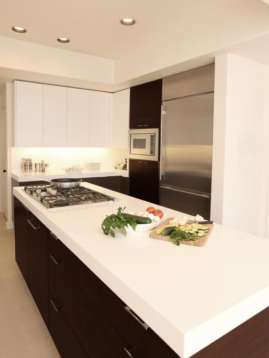 Finally, the White Colour as a Dominated Tint in the Kitchen of - Modern Home Decoration Ideas