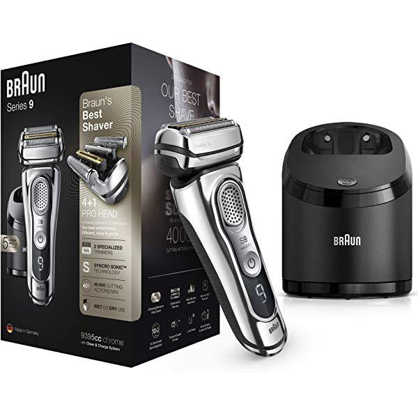 Braun Series 9 9385cc Afeitadora Eléctrica Hombre De última Generación Afeitadora Barba Con Estación Afeitadora Barba Maquinilla De Afeitar Maquina De Afeitar