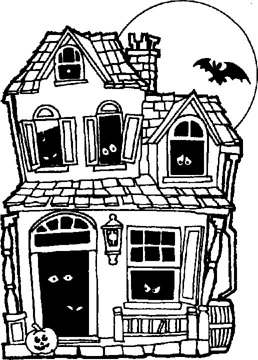 58 best haunted house halloween images on pinterest art rooms rh pinterest com Haunted House Illustration Haunted House Silhouette Clip Art