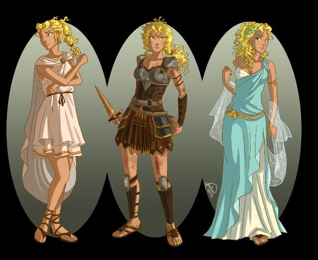 annabeth in ancient clothing ancient greece
