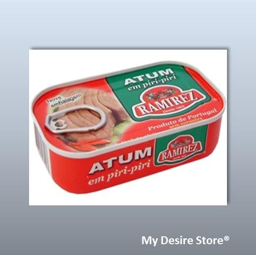 Ramirez® Tuna in hot sauce - 120gr http://www.mydesirestore.com/product/tuna-3/