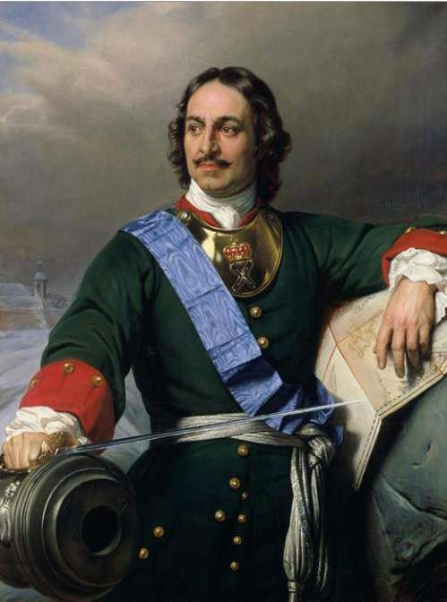 Tsar Peter the Great. Not the best role model from history, but very interesting character of history.