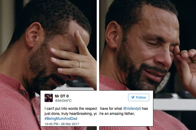 """Rio Ferdinand's Documentary """"Being Mum And Dad"""" Aired And Everyone Got Emotional"""