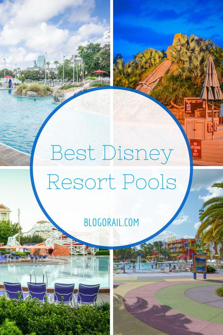 Best Disney Resort Pools | Blogorail Green