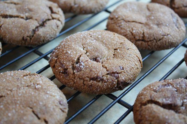 Chocolate Gingerbread Cookies | Cookies | Pinterest