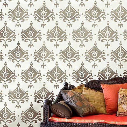 Stencil  #stencils #stencil #wall #decor #stenciled #modern #designs #designer #modern #geometric #damask #allover #moroccan #pattern #decal #wallpaper #nursery #cuttingedgestencils
