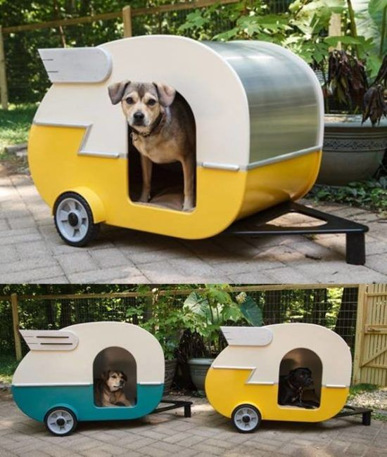How adorable is this Doggy Camper and we have lots of amazing versions you will love to check out. Click in now and view them all!