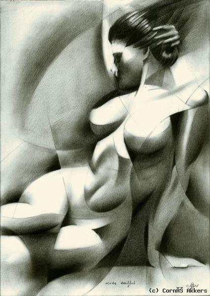 Corné Akkers - Nude -03-01-16 (sold)