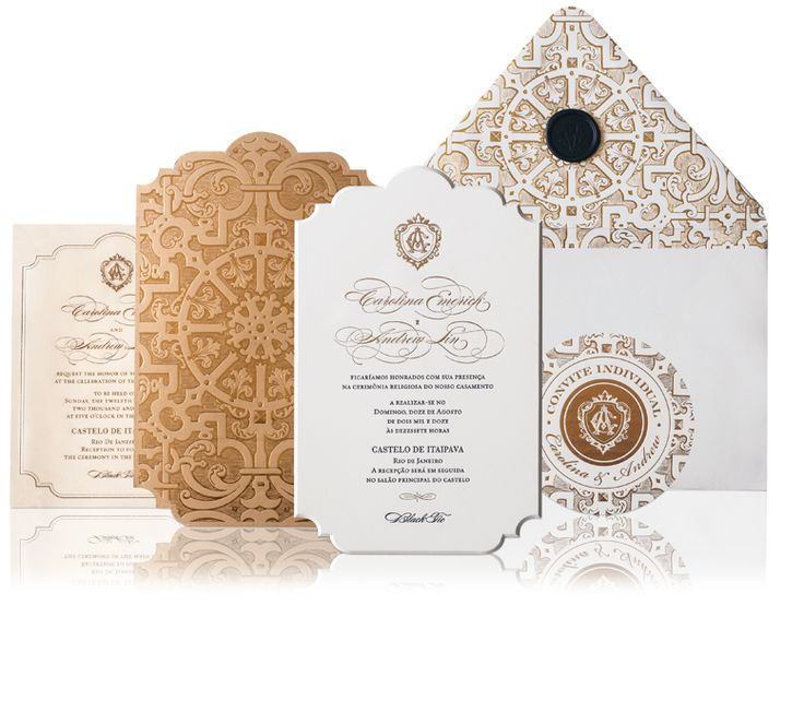 how to mail scroll wedding invitations%0A Glamorous Wedding Invitation Ideas for Discerning Brides