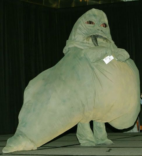 Jabba the Hutt Costume - Craftster.org
