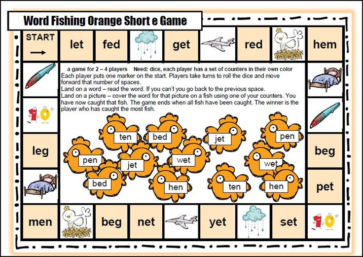 Literacy Awareness, Shorts Vowels, Reading Games, Phonemic Awareness ...