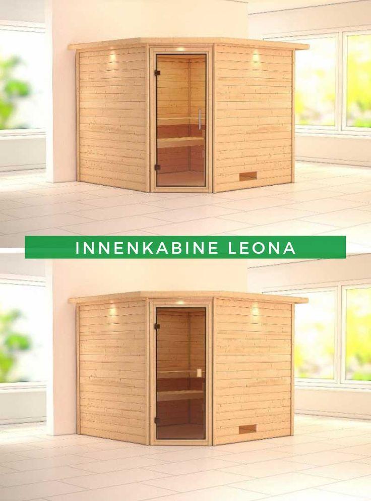 Sauna Innenkabine Leona Ruheraum, Zuhause und Innenraum