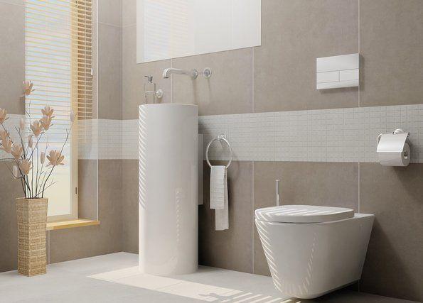 Die besten 25 Badezimmer beige Ideen auf Pinterest  Metallschrank ikea Badezimmer fliesen