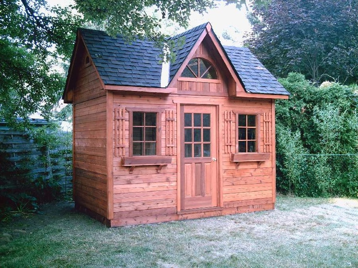 Too pretty to be a shed shedding pinterest to be a for Pretty garden sheds