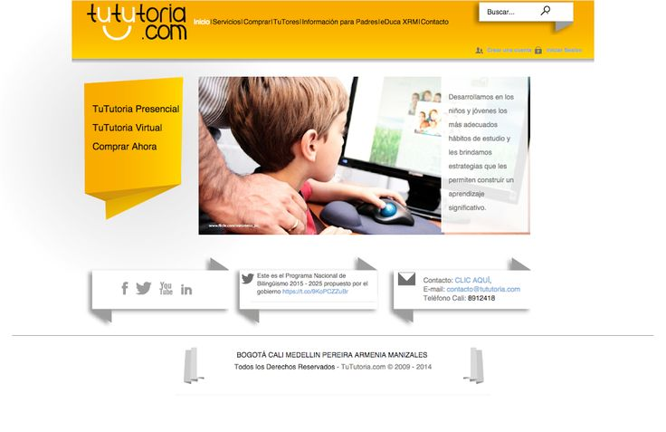 TuTutoria #Websites #Idealistica #ebranding