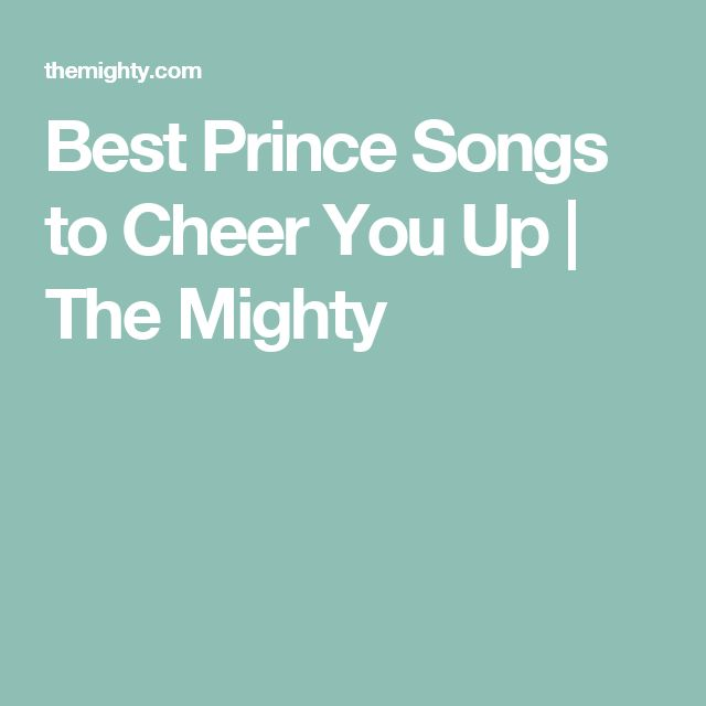 Best Prince Songs to Cheer You Up | The Mighty