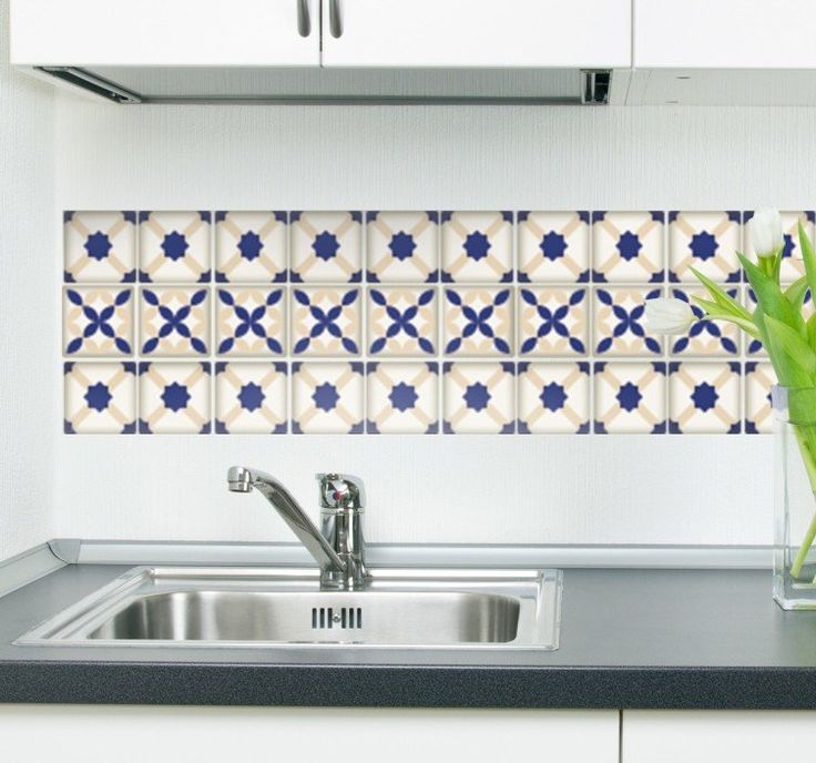 A great decoration idea from Portugal, that gives your kitchen a mediterranean touch!