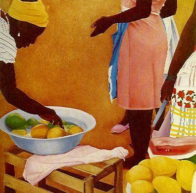 Palenqueras en Domingo - Ana Mercedes Hoyos