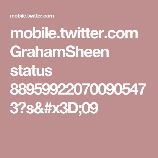 mobile.twitter.com GrahamSheen status 889599220700905473?s=09