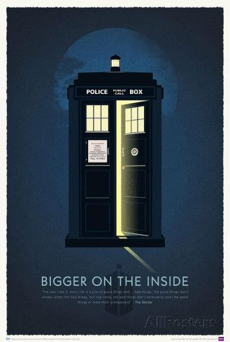 Doctor Who 50th Anniversary Art Print Poster Poster