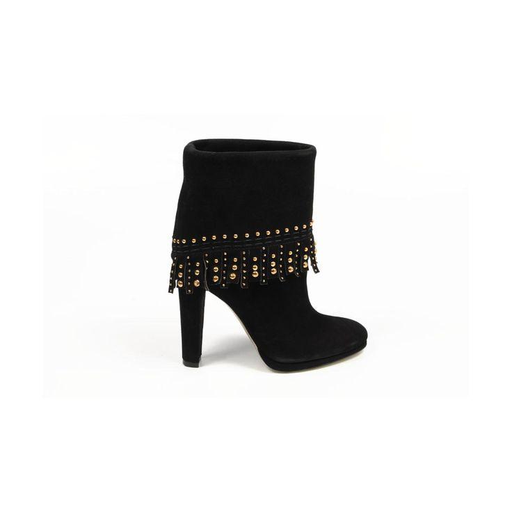 Sebastian Milano ladies ankle boot S3982 CAMOSCIO ML NERO
