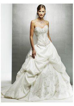 jupe coupe embelli la chapelle de train longueur des robes de mariée bustier