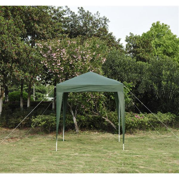 H4home Small Garden Gazebo 2x2 Pop Up Outdoor Bbq Canopy Green