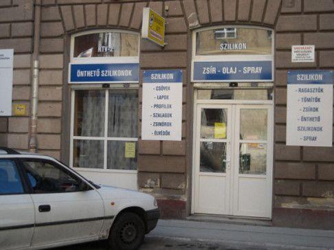 Bondex Kft szilikon szaküzlet Bp. 7.ker. Murányi utca 48. Tel.: 06-1-221-92-12,  06-1-220-91-77,
