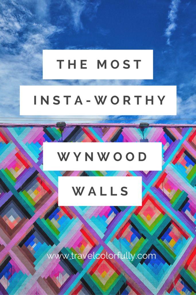 The Most Insta-Worthy Wynwood Walls