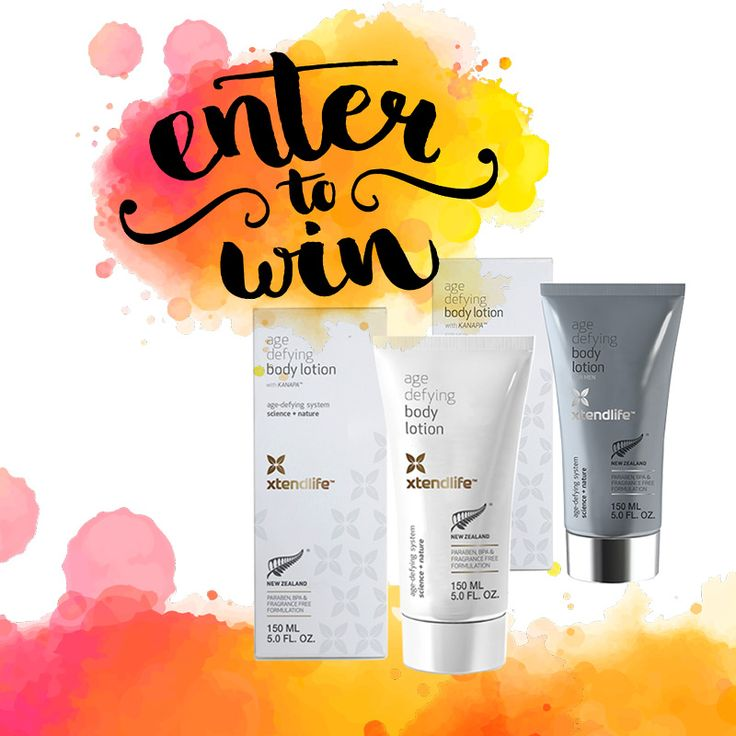 WIN Age Defying Body Lotion - head to our FB page to find out how. #win #beauty #antiaging