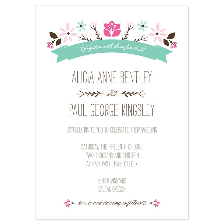 1000+ Ideas About Wedding Invitation Wording Examples On