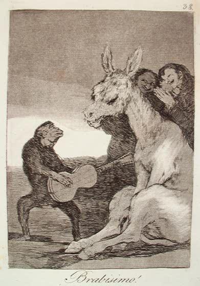 Francisco de Goya, Los Caprichos, Bravissimo!, 1799