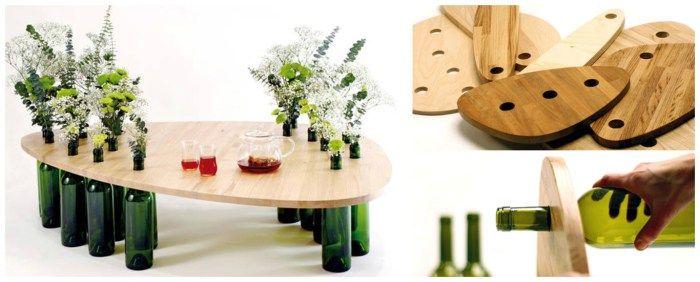 Recycler ses bouteilles de vin : Tati Guimarães - Dvinus Upcycling / Surcyclage - Après la flemme