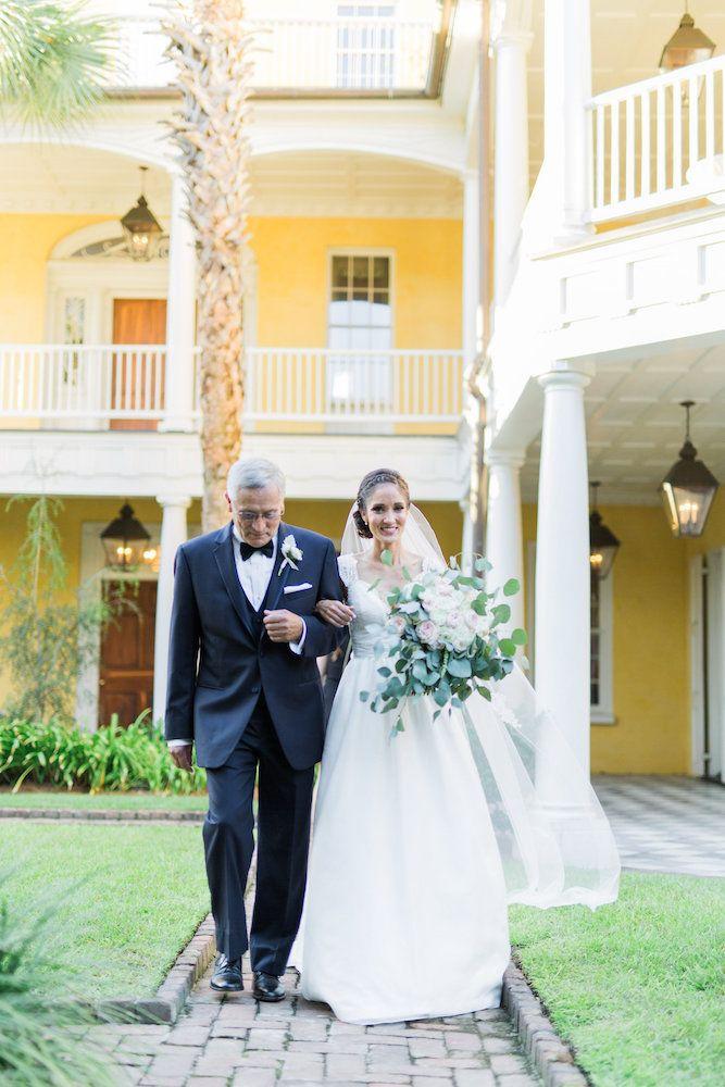 A Wedding Ceremony At The William Aiken House In Charleston South Carolina Destination