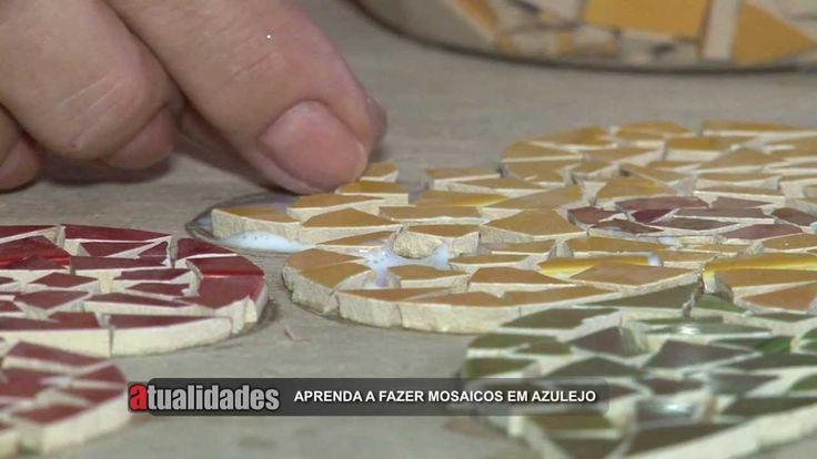 """""""Atualidades"""" - Mosaicos em Azulejo - Antônio Filho e Bete Petrucci"""